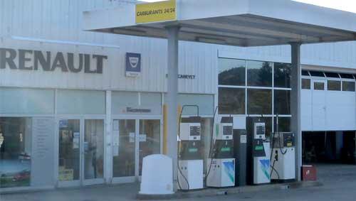 Service carburant Cunlhat 24/24